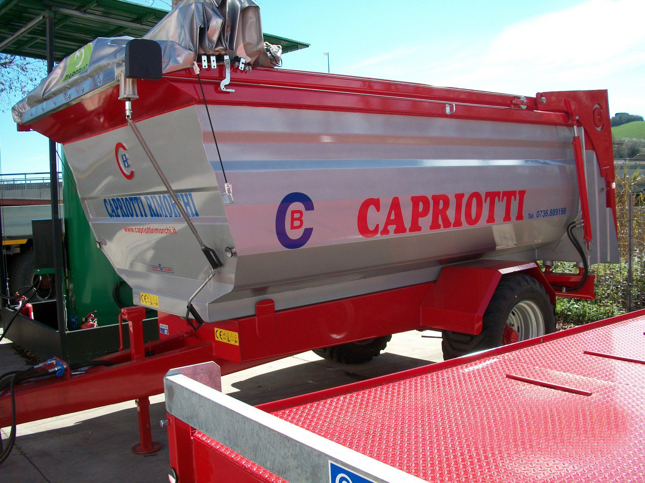Dumper capriotti rimorchi for Capriotti rimorchi agricoli